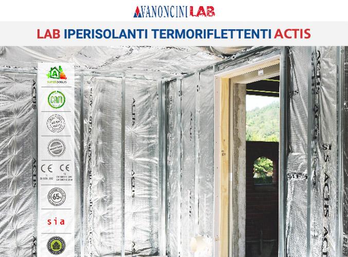 LAB IPERISOLANTI TERMORIFLETTENTI ACTIS PANTIGLIATE (MI)