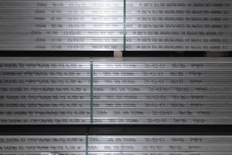 Le orditure metalliche per filo e per segno