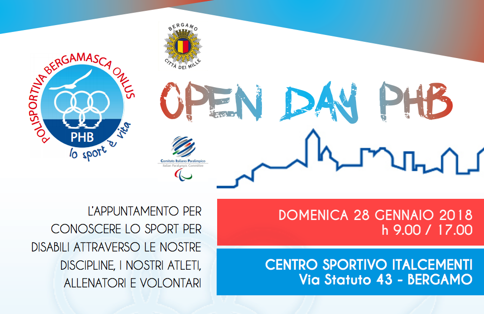 Open Day PHB 2018