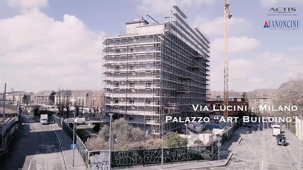 Art Building Via Lucini Milano