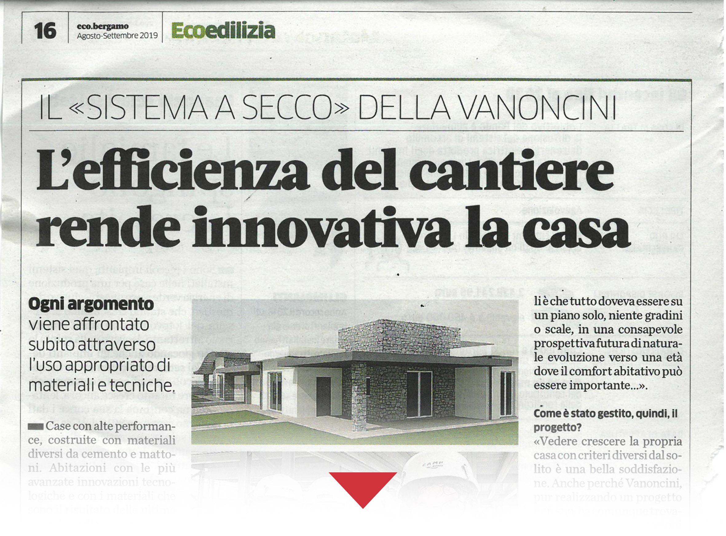 efficenza nei cantieri, innovare la propria casa, ville innovative, cantieri innovative, aziende innovative