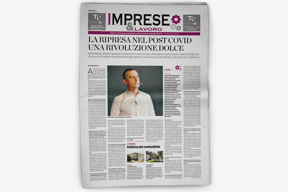 Danilo Dadda intervistato da: La Provincia