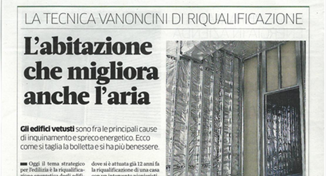 Riqualificazione energetica edifici esistenti_Vanoncini