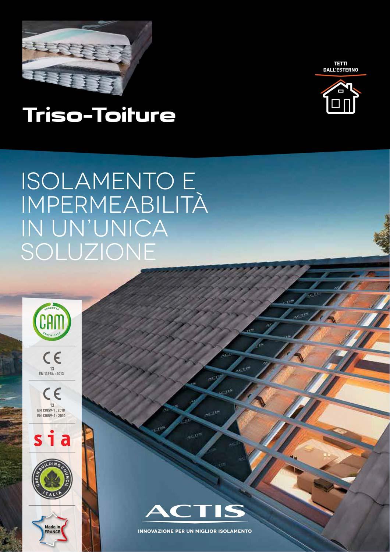 TRISO - TOITURE Isolamento e impermeabilità in un'unica soluzione