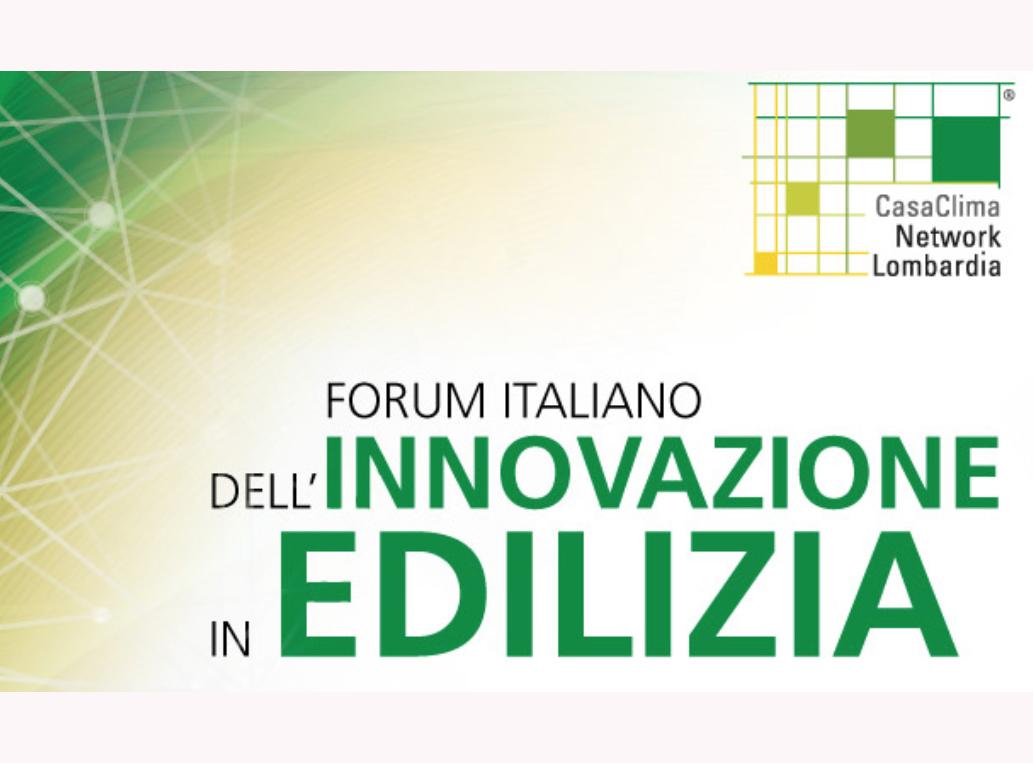 Forum italiano dell'innovazione in edilizia