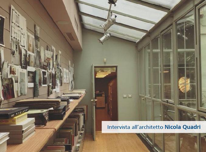 Intervista all'ArchitettoNicola Quadri