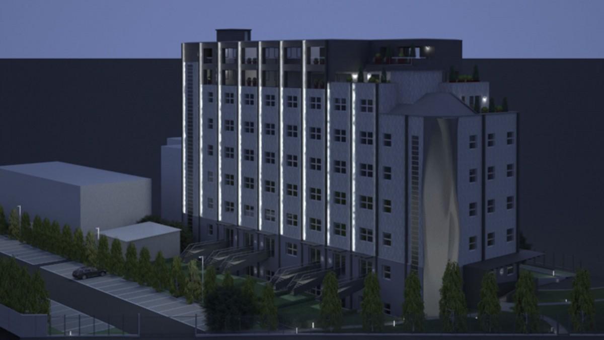 art building render