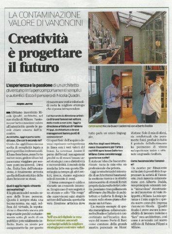 Creatività è progettare il futuro