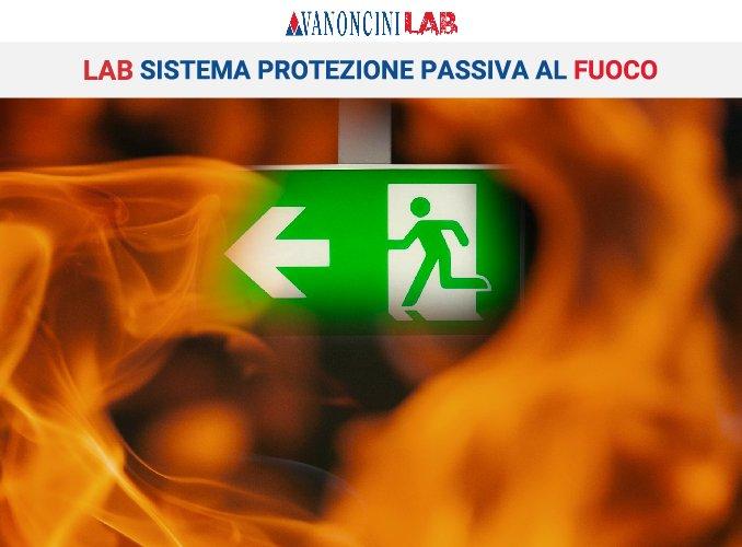 LAB SISTEMA PROTEZIONE PASSIVA AL FUOCO MAPELLO (BG)