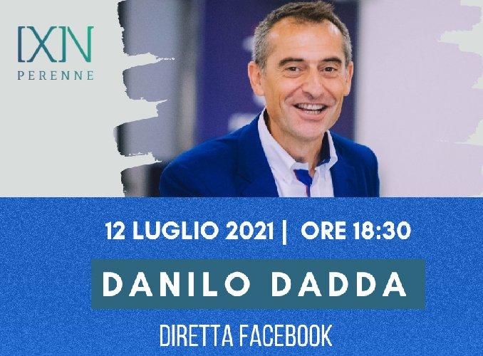 Danilo Dadda in diretta con Perenne - il coraggio di essere Pionieri