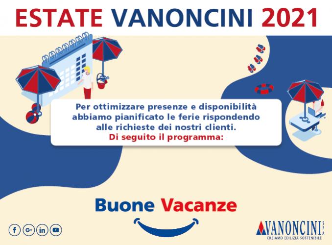 Estate Vanoncini 2021