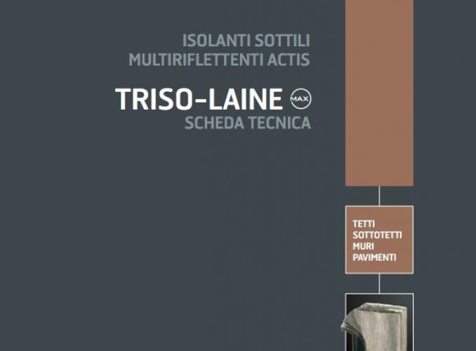 Actis TRISO LAINE: isolante sottile multiriflettente