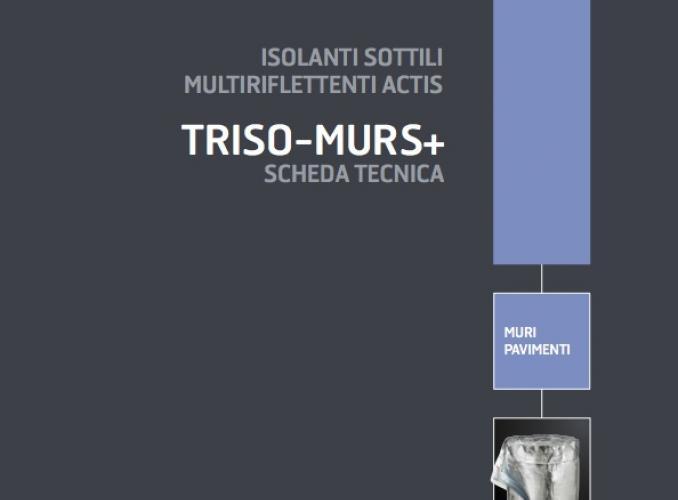 Actis TRISO MURS+: isolante sottile multiriflettente