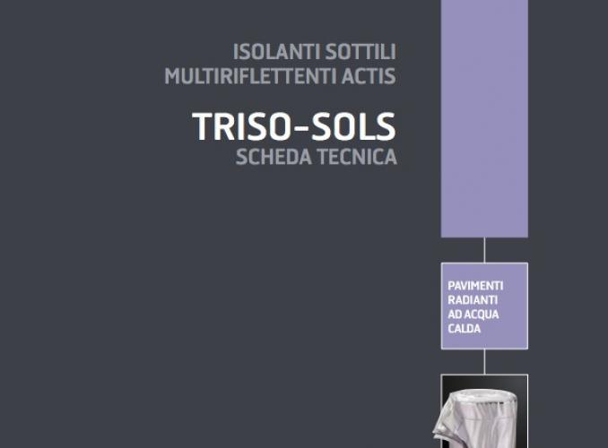 Actis TRISO SOLS: isolante sottile multiriflettente